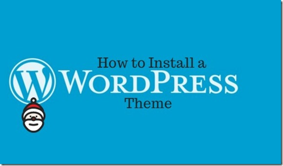 installing a wp theme via login to admin panel