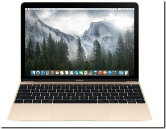 12-inch MacBook 256GB - Gold