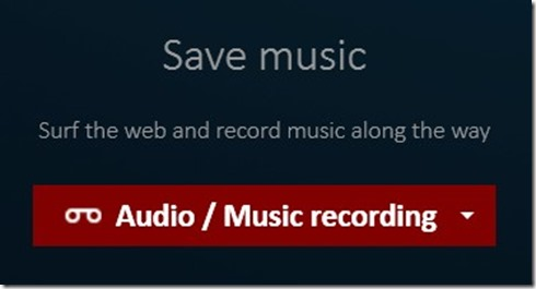 save music streaming and recording
