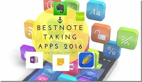 Best NoteTaking apps 2016 smaller