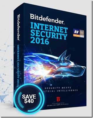 Bitdefender pc security and antivirus 2016