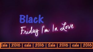 Get Black Friday Sales 2016 in Australia