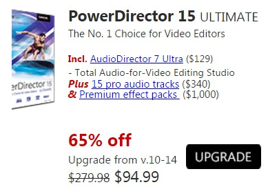 power director 15 ultimate 4k player editor