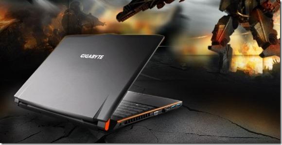 teh gigabyte laptop