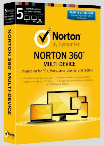 norton 360 multi device