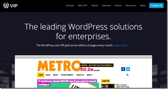 vip servers from wordpress.com