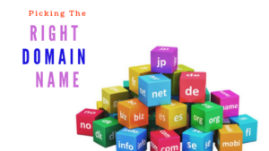 choosing the right domain name for your blog
