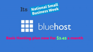 Small Business Week Sale  + Bluehost Australia Hosting 2018 Deals