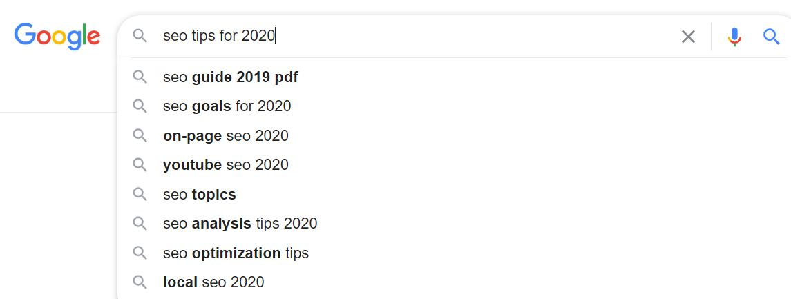 seo to rank 2020