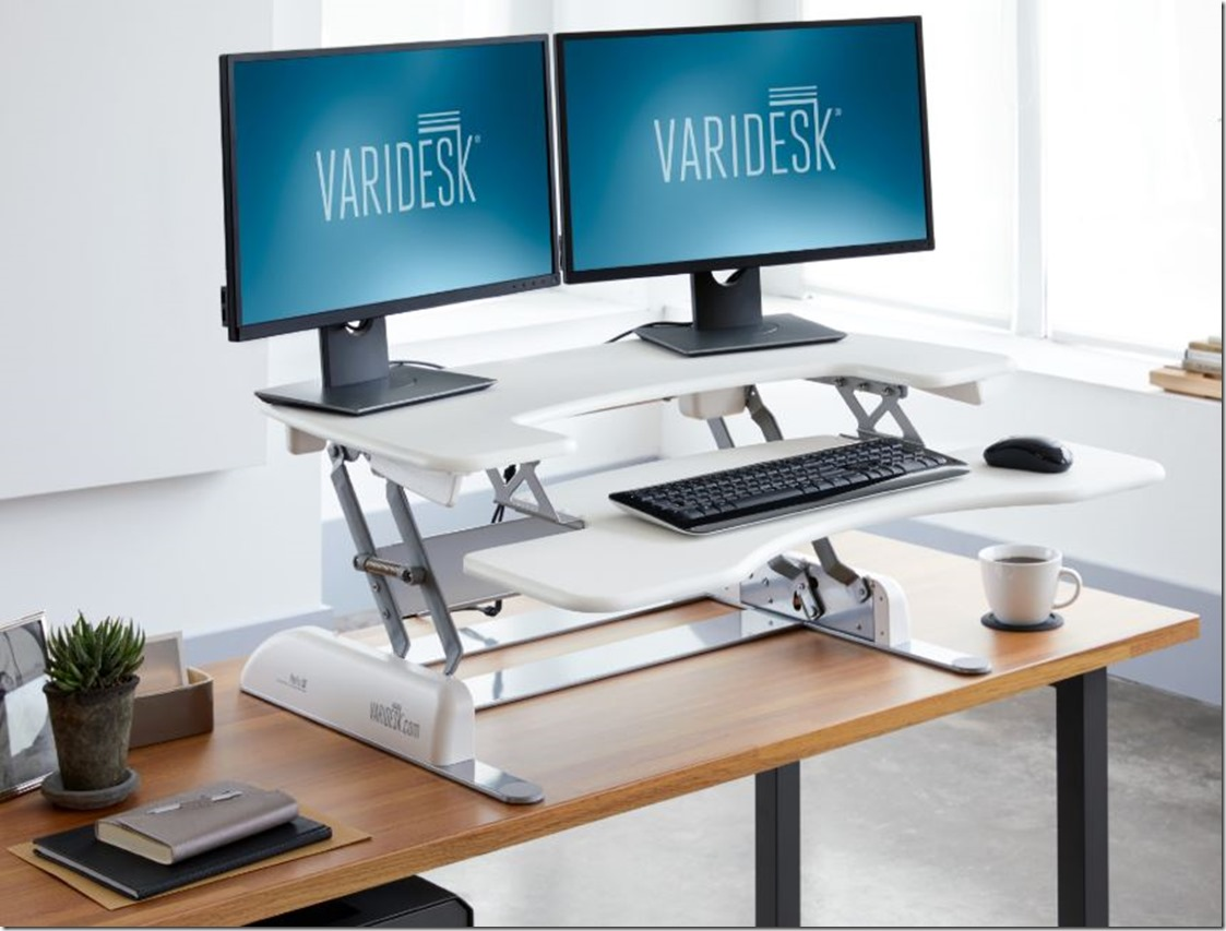 pro plus 36 white desk sit stand up desk