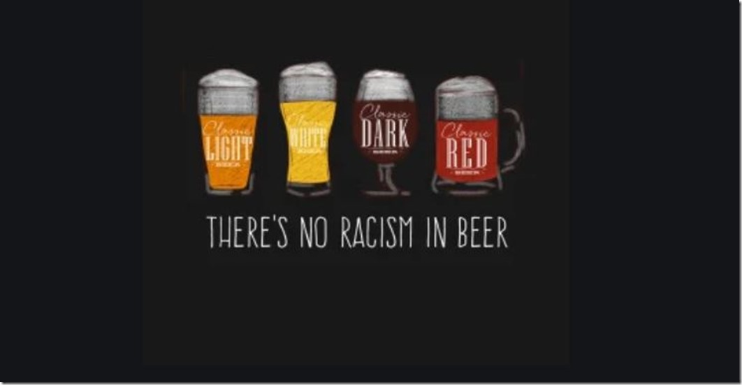 racism and beer not corona